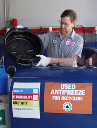 Antifreeze Disposal